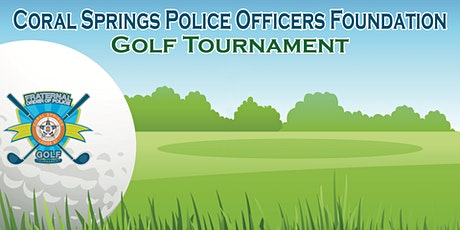 2020  Coral Springs FOP Golf Tournament tickets