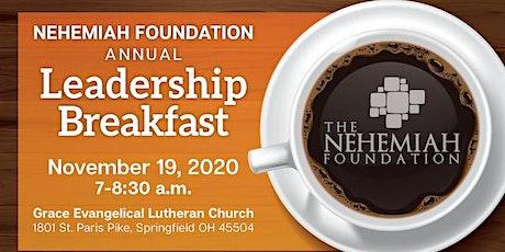 The Nehemiah Foundation Fall Leadership Breakfast tickets