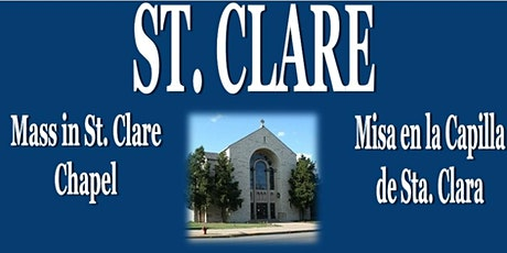 ST. CLARE - SEPTEMBER 20, 2020 - MISA DOMINICAL/SUNDAY MASS tickets