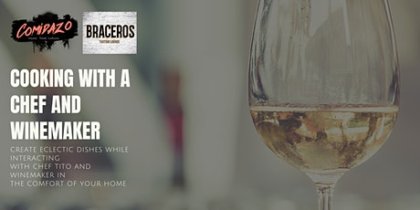 COMIDAZO & SURCOS WINES Presents Cook with a Chef and Winemaker Series tickets