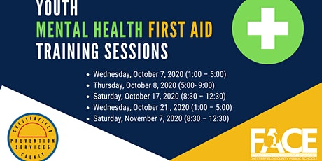 Youth Mental Health First Aid Training Sessions tickets
