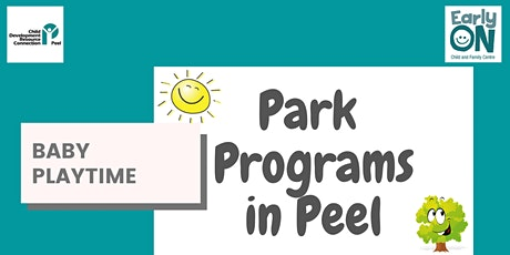 PARK PROGRAM - Baby Playtime tickets