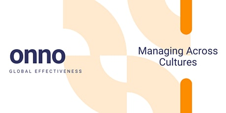 Managing Across Cultures tickets