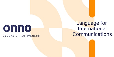 Language for International Communications tickets