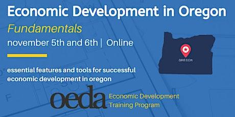 Economic Development in Oregon Fundamentals tickets