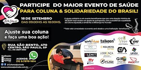 Ajuste Solidário 2020 - Unidade Centro - Coluna Ajustada bilhetes