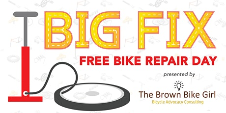 Big Fix - Bike Repair Day by The Brown Bike Girl tickets