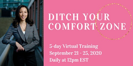 Ditch Your Comfort Zone tickets