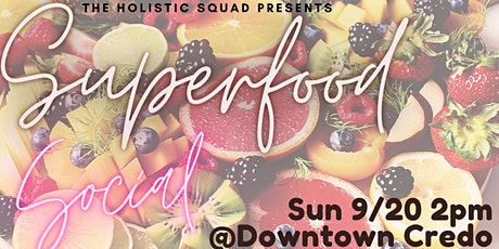 Superfood Social tickets