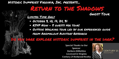 Ghost Walks: Return to the Shadows tickets