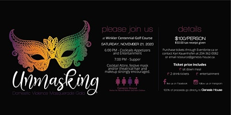 """Unmasking"" Domestic Violence Masquerade Gala tickets"