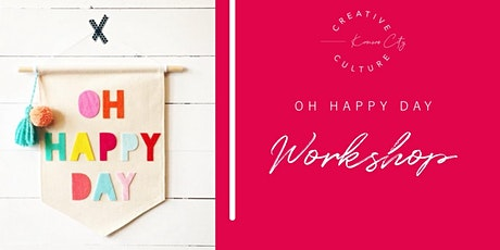 Workshop| Oh Happy Day Flag tickets