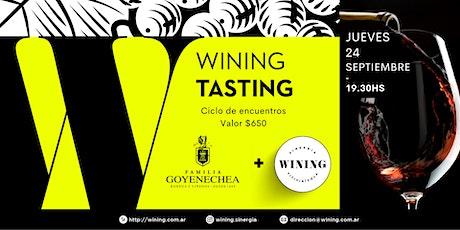 Wining Tasting #Goyenechea entradas