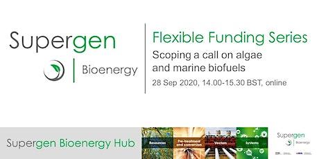 Flexible Funding Series - Scoping a call on algae and marine feedstocks tickets