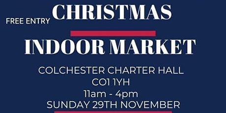 Charter Hall Indoor social distancing Christmas Market tickets