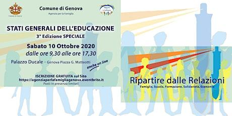 Stati Generali dell'Educazione Terza Edizione Speciale biglietti