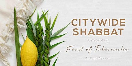 Feast of Tabernacles (Sukkot) Citywide Shabbat tickets