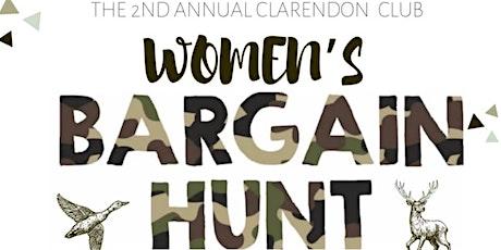 Clarendon Club Women's Bargain Hunt 2020 tickets