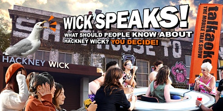 Wick Speaks! Tour Launch tickets