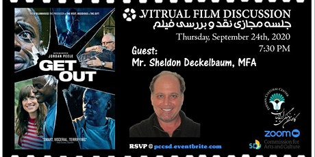 Virtual Film Discussion Series: (Get Out - برو بیرون ) tickets