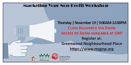 Marketing Your Non-Profit Workshop tickets
