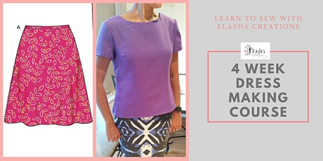 Dressmaking 4 Week Course For Beginners 2020 tickets
