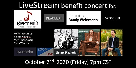 KPFT Benefit Show w Sandy Weinmann/Jimmy Pizzitola/Matt Harlan/Mark Winters tickets