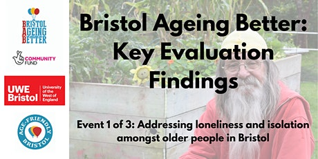 Addressing loneliness and isolation amongst older people in Bristol tickets