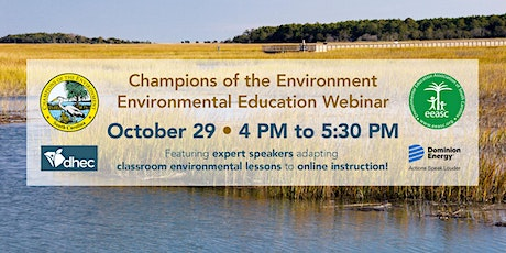 Champions of the Environment Webinar 2020 tickets
