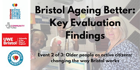 Older people as active citizens: changing the way Bristol works tickets