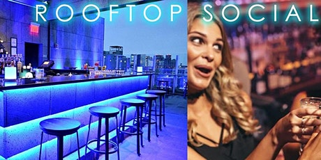 Rooftop Social Event In Queens: Wine Open Bar And Complimentary Appetizers tickets