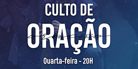 Culto de Oração -  30/09 - 20h tickets