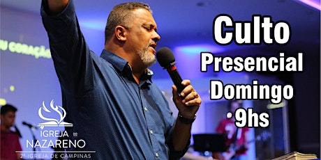 Culto Devocional -  04/10 - 09h tickets