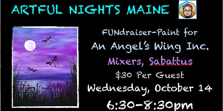 FUNdraiser-Paint for An Angel's Wing Inc. at Mixers tickets