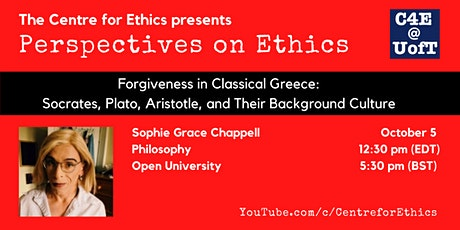 Sophie Grace Chappell, Forgiveness in Classical Greece tickets