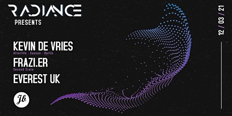 [POSTPONED] RADIANCE presents Kevin De Vries & Frazi.er tickets
