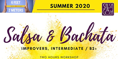Salsa and Bachata - workshop tickets
