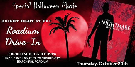 NIGHTMARE ON ELM STREET at The Roadium  Drive-In billets