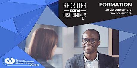 Recruter sans discriminer : formation pour employeurs, RH et syndicats billets