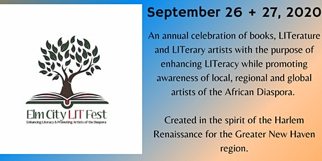 Elm City LIT Fest: CT's LIT! Black spoken word artists, 9/26 @ 3:30-5:00pm tickets