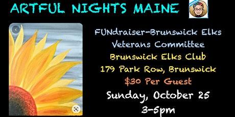 FUNdraiser-Paint for Brunswick Elks Veteran's Committee tickets