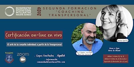 "SEGUNDA FORMACIÓN EN ""TRANSPERSONAL COACHING"" entradas"