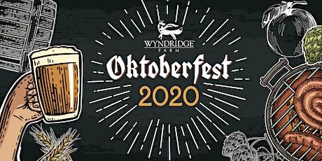 Wyndridge Farm Oktoberfest 2020 tickets
