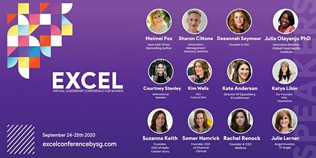 Excel Conference : Virtual Conference For Female Founders tickets