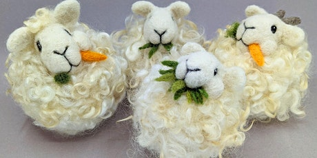 Needle Felt a Chewing Sheep Puff tickets