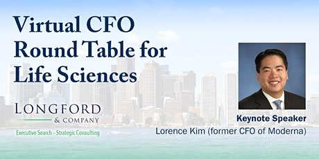 Virtual CFO Round Table for Life Sciences tickets