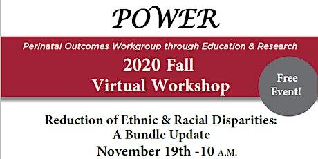 UAMS POWER 2020 Fall Virtual Workshop tickets