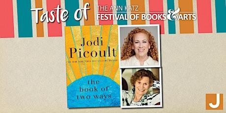 Virtual Taste of the Ann Katz Festival: Jodi Picoult with Judy Blume tickets