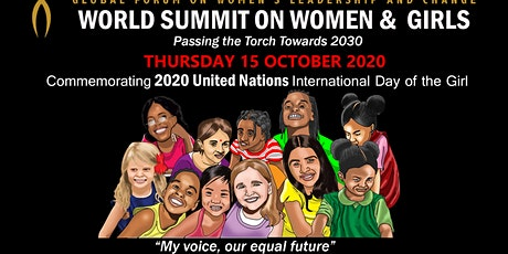 WORLD SUMMIT ON WOMEN & GIRLS: 2020 International Day of the Girl tickets