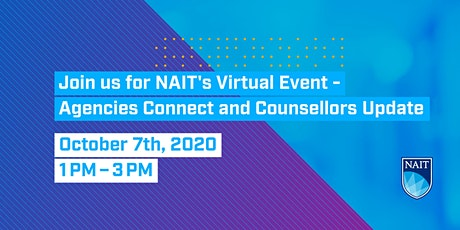 2020 NAIT Agencies Connect & Counsellors Update tickets